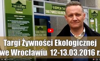 Targi Zdrowej Żywności TAR-ECO 2016 – video relacja